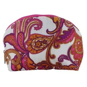 Clinique Paisley Cosmetic Bag